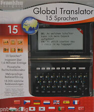 Franklin Global Translator M520 15 Languages over 1,6 Millions Entries New