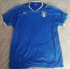 ITALY HOME FOOTBALL SHIRT 2007-2009 ADULT LARGE