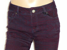 JEANS LAURA SCOTT STRETCH GR: 38 MARINE/BORDEUX NEU UVP100€
