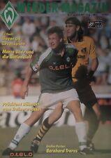 Programm 1997/98 SV Werder Bremen - Bayer Leverkusen