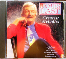 JAMES LAST CD ,, GREATEST MELODIES '' 13 GENIALE SOUNDS 1966-1988