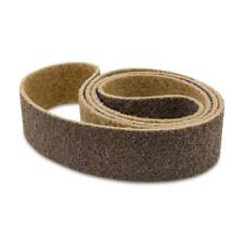 1 X 30 Inch Non Woven Surface Conditioning Sanding Belts - Brown Coarse - 3 Pack