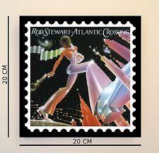 Retro Pop Art ROD STEWART ATLANTIC 8 in (ca. 20.32 cm) Immagine Piastrelle IDEA REGALO GRATIS UK P & P