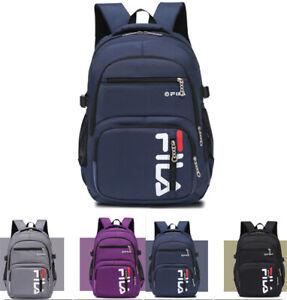 FILA0 Herren Damen Freizeit Rucksack Sport Backpack Wandern Arbeit Schulrucksack