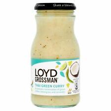 Loyd Grossman Green Thai Curry Sauce (350g) - Pack of 6
