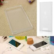 TPU Transparent Case Protective Cover Skin Shell For Apple iPod Nano 7 7th C60F