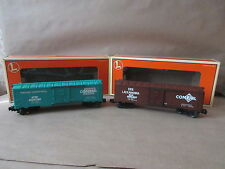 Lionel Model Strains 6-21756 Overstamped Boxcar Set 664 6-29233 6-29234 O Scale