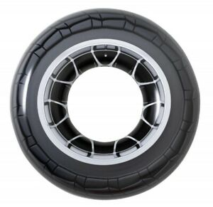"""Giant 47"""" Swimming Pool Inflatable Tyre Rubber Ring Float Adults & Kids Fun 6102"""