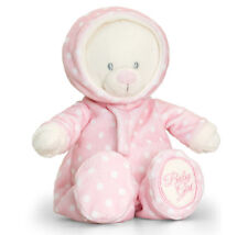 Nouveau Bébé Fille Cadeau Teddy bear soft plush toy par Keel Toys-Rose surpyjama