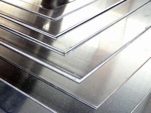 Lastra Lamiera Acciaio Inox Aisi304 Satinato 500x500 1.5mm/Su misura a richiesta