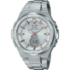Casio Baby-G Stainless Steel Solar Powered Ladies Watch - MSGS200D-7A