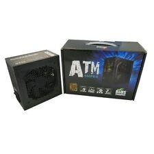 ATNG 650W Black Edition 80+ Bronze ATX Single Rail Power Supply, CE - Retail