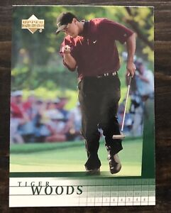 2001 Upper Deck Tiger Woods Rookie RC Card - UD Card #1