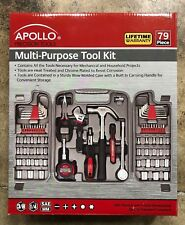 C5 Apollo Precision Tools Dt9411 Tool Kit, 79-Piece New Home Improvement