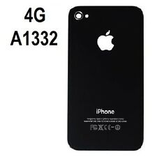 Replacement Rear Glass Back Cover Battery Door For iPhone 4G A1332 Black USA