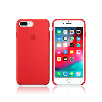 Funda Apple Silicone case para iPhone 7 Plus/8 Plus silicona MQH12ZM/A rojo