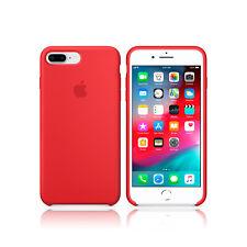 Funda Apple Silicone case para iPhone 7 Plus/8 Plus silicona MQH12ZM/A rojo