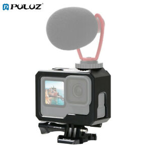 PULUZ For GoPro HERO9 ABS Mount Protective Case with Buckle Basic Mount & Screw