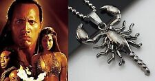 COLLANA RE SCORPIONE THE SCORPION KING PENDANT CHAINE Chuck Russell MEDIEVAL  D