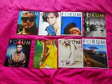HASSELBLAD FORUM Magazine mixed English issues nice condition 8 magazine issues