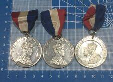 1937 Commemorative British Coronation Medals, Edward VIII & George Vi