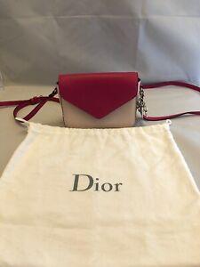 Christian Dior Diorissimo Promenade Envelope Pouch Cross Body Shoulder Bag