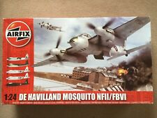 Airfix 1:24 De Havilland Mosquito NFII/FBVI model no:A25001, condition new.
