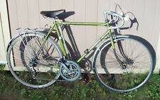 Vintage RALEIGH INTERNATIONAL 10 SPEED BICYCLE Green Bike Campagnolo Record VGC