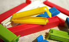 Seal Locking Clips for Food Packets Air Sealing Clips (Set of 12 pcs) Full size
