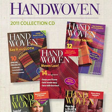 5 Issues on Cd: Handwoven Magazine 2011 Cultures Design Linen Wearable Art Weave