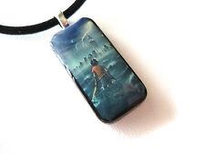 Percy Jackson Mini Domino Pendant With FREE Necklace