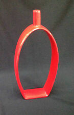 Decorative Vase Flower Vase 30 cm Deco Modern Design Ceramic Red