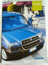 Fiat Doblo range brochure Apr 2002