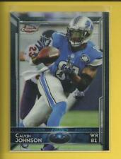 Calvin Johnson 🏈 2015 Topps Chrome Card # 5 Detroit Lions Football NFL Megatron