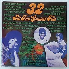 2LP Various - 32 All Time Greatest Hits, Holland Negram, Surfaris, Lalo Schifrin