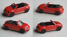 MAJORETTE-VW BEETLE CABRIOLET rouge avec Noirs Jantes radvariante 2