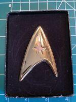Franklin Mint Star Trek U.S.S. Enterprise Command Insignia .925 Sterling