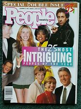 People Magazine - The 25 Most Intriguing People of 1993