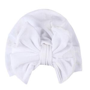Newborn Infant Baby Headband Turban Hats Cap Head Wrap Beanie Cute Kids Boy Girl
