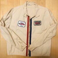 VTG NASCAR Richard Petty No. 43 Racing Jacket Darlington 500 Patch Champion Med.