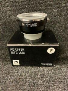 VOIGTLÄNDER Adapter MFT / LEM MICRO FOUR THIRDS ADAPTOR F