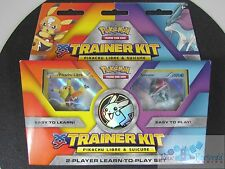 Pokemon trainer kit learn to play starter decks cards PIKACHU LIBRE vs. SUICUNE