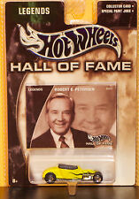 Hot Wheels Hall Of Fame Legends Robert Peterson Hot Rod W/RR