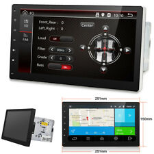 "10"" HD 2DIN Android 7.1 Bluetooth WIFI Car Stereo MP4 Player Built-in GPS -OBDII"