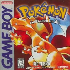 Pokemon Red Version Nintendo Gameboy Great Condition Fast Shipping