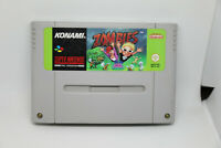 Jeu ZOMBIES pour Super Nintendo SNES version PAL