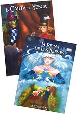 SET 1 DE DOS LIBROS DE CUENTOS DE ANDERSEN, EN ESPAÑOL