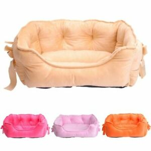 Pet Dog Cat Bed Sofa for Small Dogs Soft Puppy Chihuahua Pillow Baskets Kennel