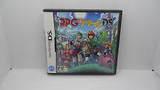 RPG Maker Nintendo DS Japanese Complete