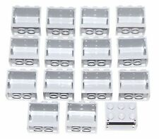 LEGO LOT OF 15 LIGHT BLUISH GREY 2 X 3 X 2 CONTAINERS CUPBOARDS BOXES PIECES